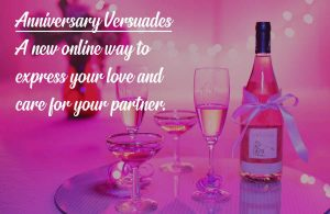 Image for Anniversary Versuades- Aonline way to express your love and care for your partner